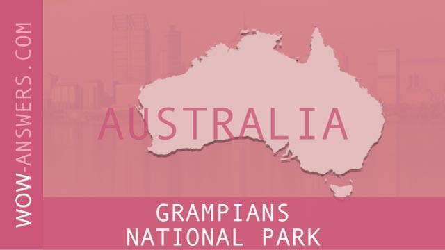 words of wonders grampians national park