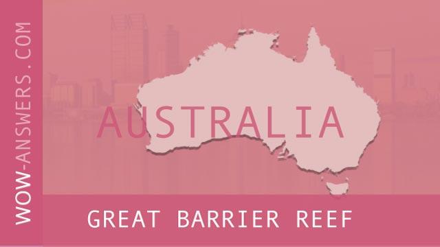 words of wonders Great Barrier Reef