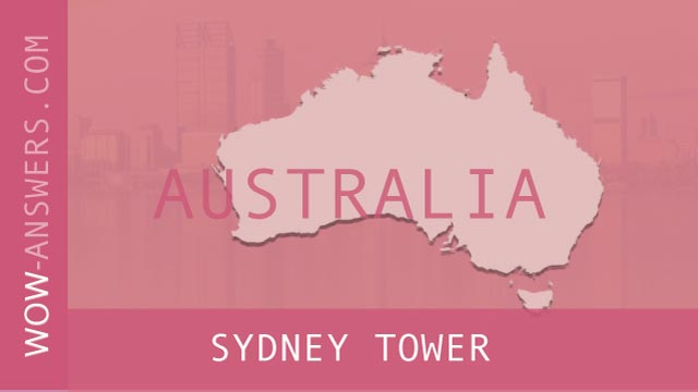 words of wonders Sydney Tower