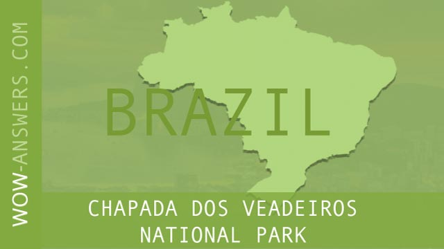 words of wonders Chapada Dos Veadeiros National Park