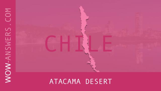 words of wonders Atacama Desert