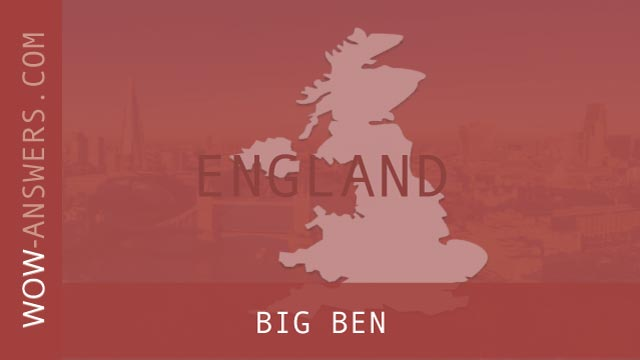 words of wonders Big Ben