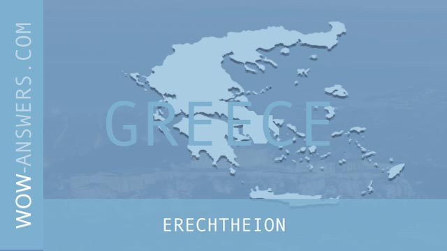 words of wonders Erechtheion