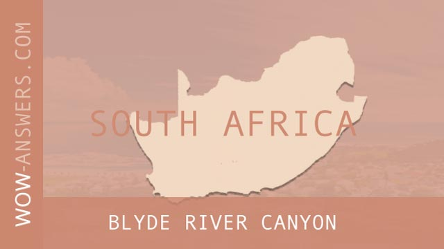 words of wonders Blyde River Canyon