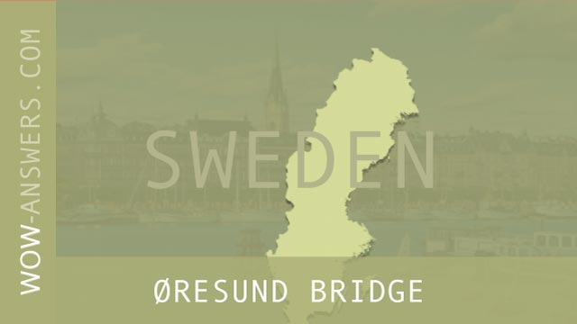 words of wonders Øresund Bridge