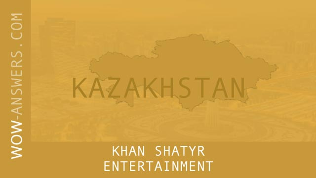 Words Of Wonders Khan Shatyr Entertainment