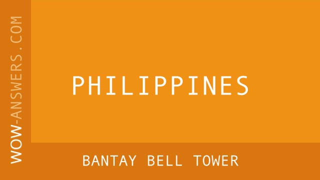 words of wonders Bantay Bell Tower
